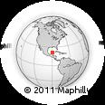 Outline Map of Chicxulub Pueblo