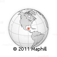Outline Map of Huhi