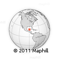 Outline Map of Ixil