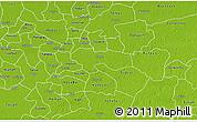 Physical 3D Map of Izamal