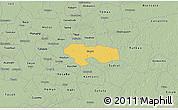 Savanna Style 3D Map of Izamal