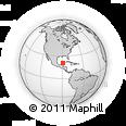 Outline Map of Izamal
