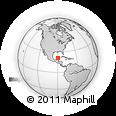 Outline Map of Kanasin