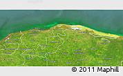 Satellite 3D Map of Lago