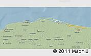 Savanna Style 3D Map of Lago