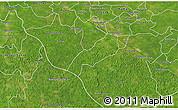 Satellite 3D Map of Oxkutzcab