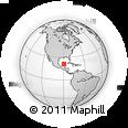 Outline Map of Progreso