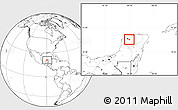 Blank Location Map of Seye