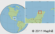 Savanna Style Location Map of Suma