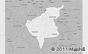 Gray 3D Map of Tekax