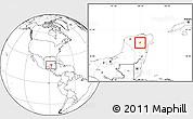 Blank Location Map of Tekom
