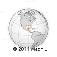 Outline Map of Tixpehual