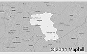 Gray 3D Map of Valladolid