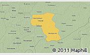 Savanna Style 3D Map of Valladolid
