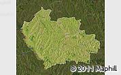 Satellite Map of Balti, darken