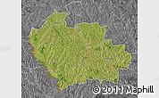Satellite Map of Balti, desaturated