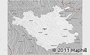 Gray 3D Map of Chisinau