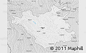 Silver Style 3D Map of Chisinau