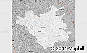 Gray Map of Chisinau