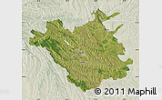 Satellite Map of Chisinau, lighten