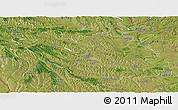 Satellite Panoramic Map of Chisinau