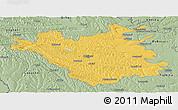 Savanna Style Panoramic Map of Chisinau