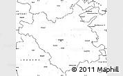 Blank Simple Map of Chisinau
