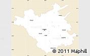 Classic Style Simple Map of Chisinau, single color outside