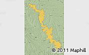 Savanna Style Map of Dubasari