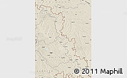 Shaded Relief Map of Dubasari