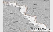 Gray Panoramic Map of Dubasari