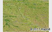 Satellite Panoramic Map of Dubasari