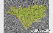 Satellite Map of Edinet, desaturated