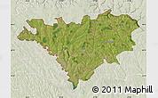 Satellite Map of Edinet, lighten
