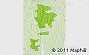 Physical Map of Gagauzia, lighten