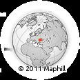 Outline Map of Gagauzia