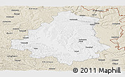 Classic Style Panoramic Map of Orhei