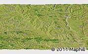 Satellite Panoramic Map of Orhei
