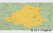 Savanna Style Panoramic Map of Orhei
