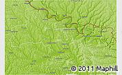 Physical 3D Map of Soroca