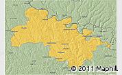 Savanna Style 3D Map of Soroca