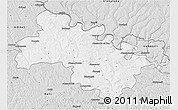 Silver Style 3D Map of Soroca