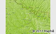 Physical Map of Soroca