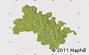 Satellite Map of Soroca, cropped outside