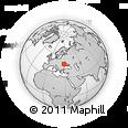 Outline Map of Soroca