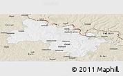 Classic Style Panoramic Map of Soroca