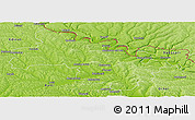 Physical Panoramic Map of Soroca