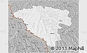 Gray 3D Map of Ungheni