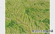 Satellite 3D Map of Ungheni