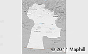 Gray 3D Map of Bayanhongor